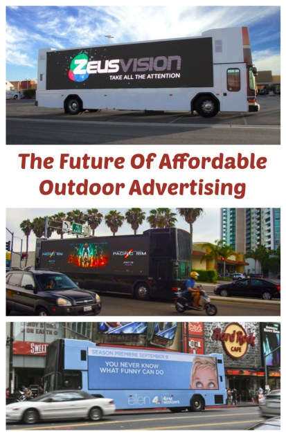 the future of affordable outdoor advertising