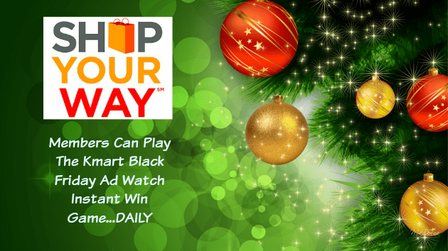 Win Free Money With The Kmart Instant Win Game