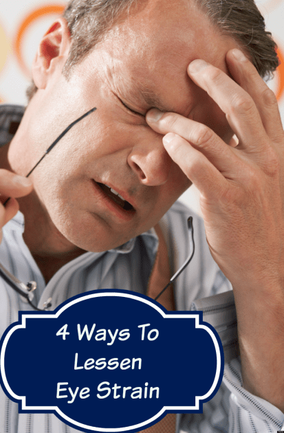 4 ways to lessen eye strain