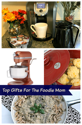 Top Gifts For The Foodie Mom pin
