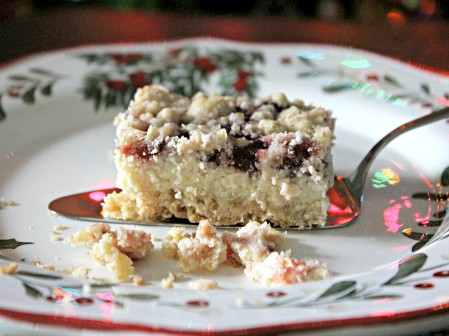 Cranberry Cream Cheese Bars Recipe