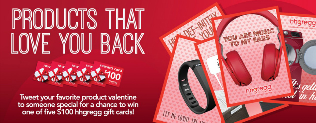Celebrate Valentine's Day With hhgregg And Enter To Win #loveHHG