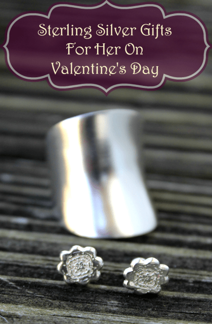 Sterling Silver Gifts For Her On Valentine's Day