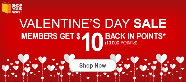 Celebrate Valentine's Day With Shop Your Way