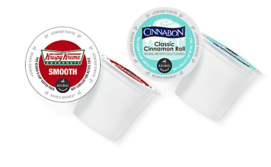 Save On Krispy Kreme And Cinnabon Keurig Kcup Coffee!