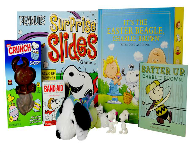 Peanuts Easter Basket Filler Ideas
