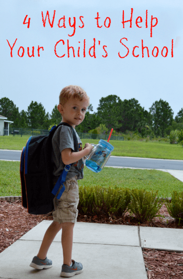 4 ways to help your child's school