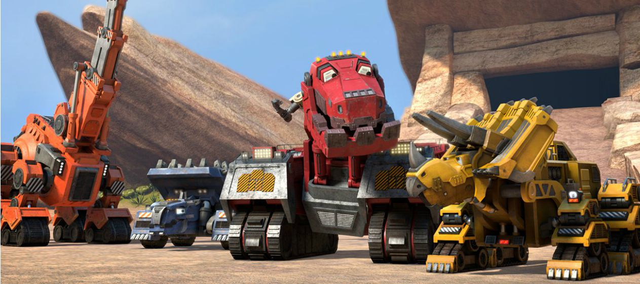Building A Better Back To School With DinoTrux #StreamTeam