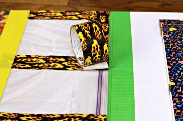 duck tape crafting