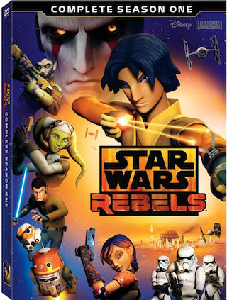 Star Wars Rebels Season One on DVD