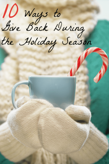 Give Back During the Holiday Season