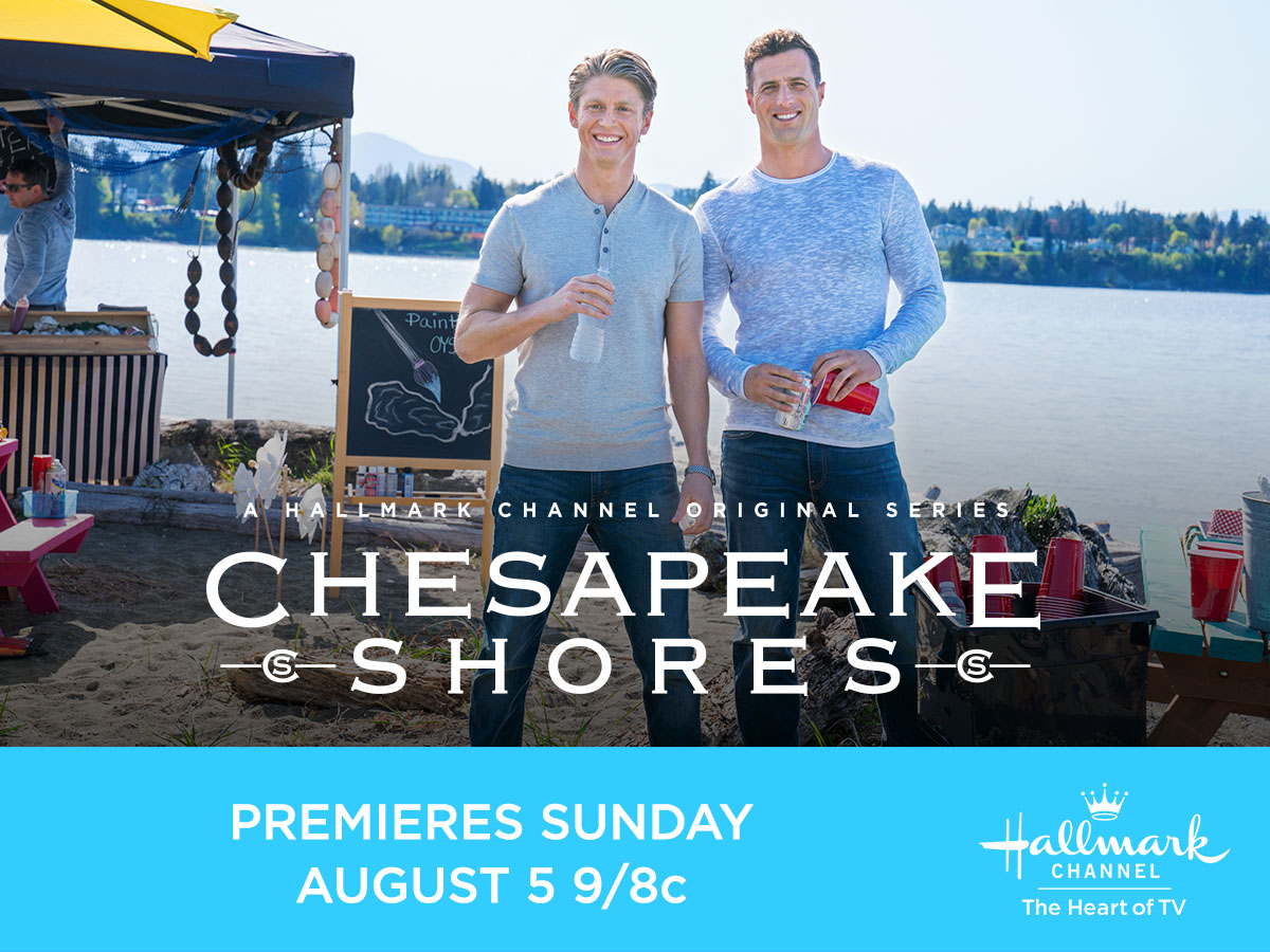 "Hallmark Channel's ""Chesapeake Shores"" Season 3 Premiering Sunday, August 5th at 9pm/8c!"
