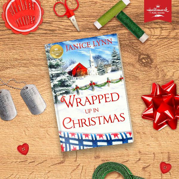 """Wrapped Up in Christmas"""" out October 1st from Hallmark Publishing!"""