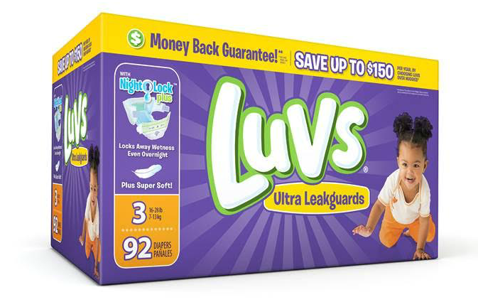 save money on diapers with luvs