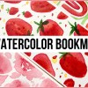 diy watercolor bookmarks