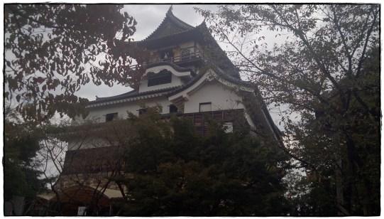 犬山城ー側面から上手く撮影