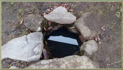 苗木城の井戸