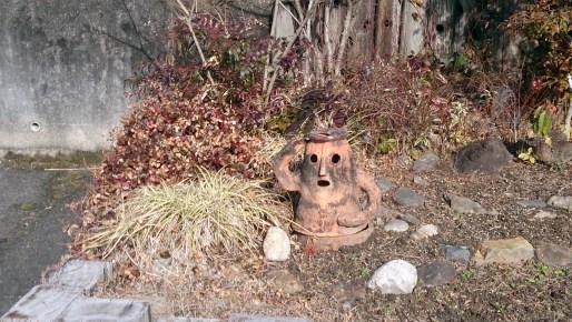 グリーンピア春日井のハニワの置物
