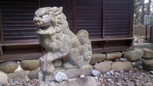 尾張富士の狛犬