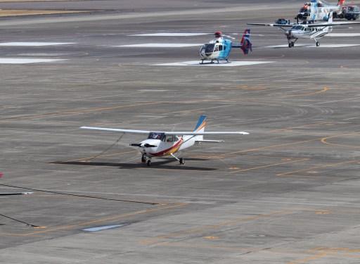 名古屋飛行場の小型機02