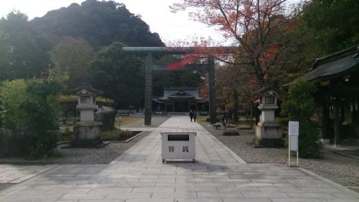 岐阜公園の岐阜護国神社