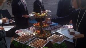 結婚式場のケーキバイキング02