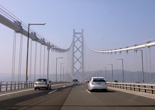 1-01明石海峡大橋を渡っている時の写真3