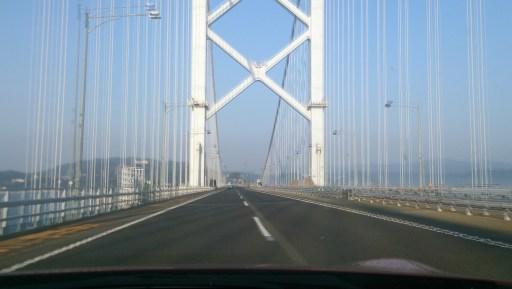 鳴門25の大鳴門橋を渡ってる最中に撮影1