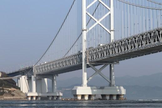 鳴門24-2のうずしお汽船から大鳴門橋を撮影1