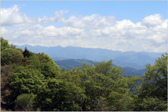 茶臼山2の1-1高原からの山々