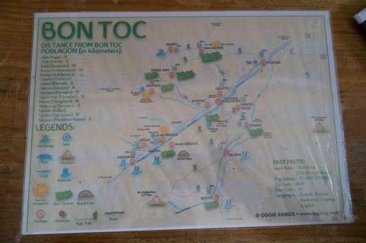Bontoc map