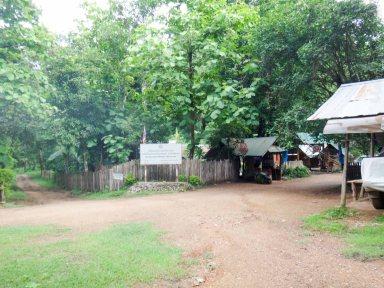 ミャンマーボーダー方面の検問所