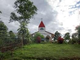 村外れの切支丹教会