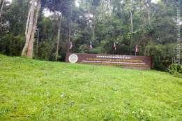 さらに川沿いを進むと國立公園エリア Lam Nam Kok National Park
