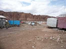 Irkeshtam の國境村