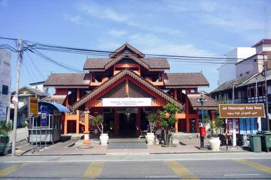 Kuala Besut のボート乗り場