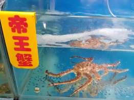 昆明の理想海鮮市場