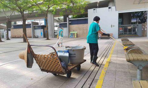 香港は塩素臭い