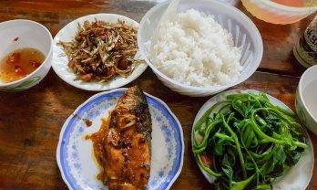 Vinh のうまくて安い日本風味のご飯屋