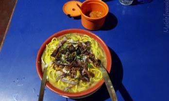 Thukpa トゥクパを食う