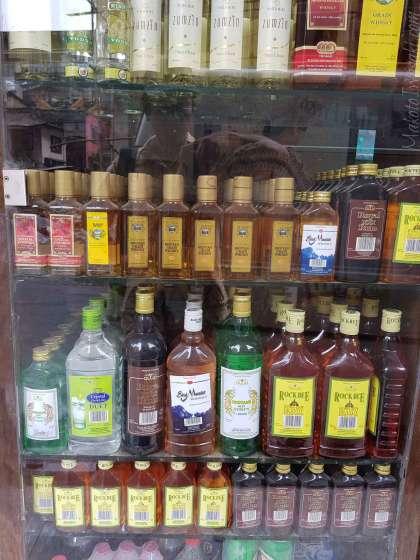 Phuentsholing でビールが一番安い店