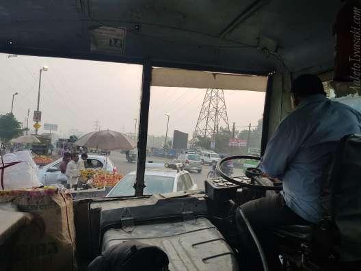 Banbasa 行きバス 112Rs