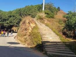 ここから展望台公園へ登る。無料