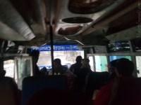 Tatopani へ 17時発バス 酷い凸凹道