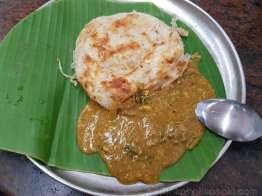 Karaikudi Ganapathy Mess の朝食