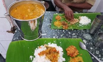 チェンナイのミール定食屋 Karaikudi Ganapathy Mess