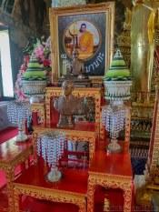 タイ國王は佛教寺で祀られる