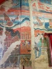 Wat Phumin の壁画