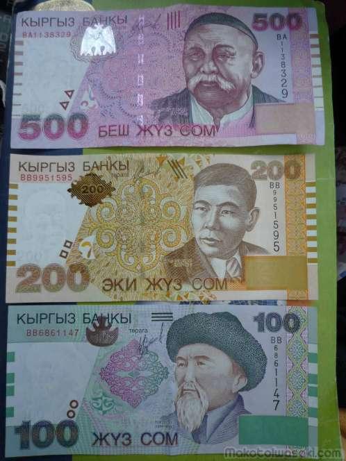 キルギス紙幣