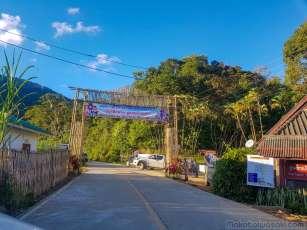 Hua Mae Kham 村の入口